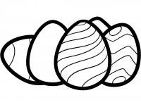 Как просто нарисовать пасхальные яйца карандашом на бумаге
