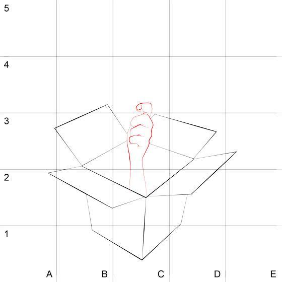 Рисуем 3D руку с мороженым на бумаге