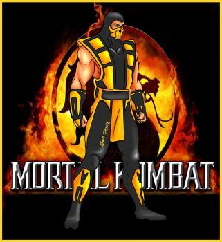 Рисуем Скорпиона в полный рост из Mortal Kombat