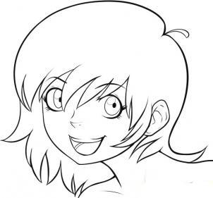 Нарисовать аниме карандашом поэтапно