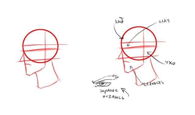 как рисовать аниме девушек карандашом.