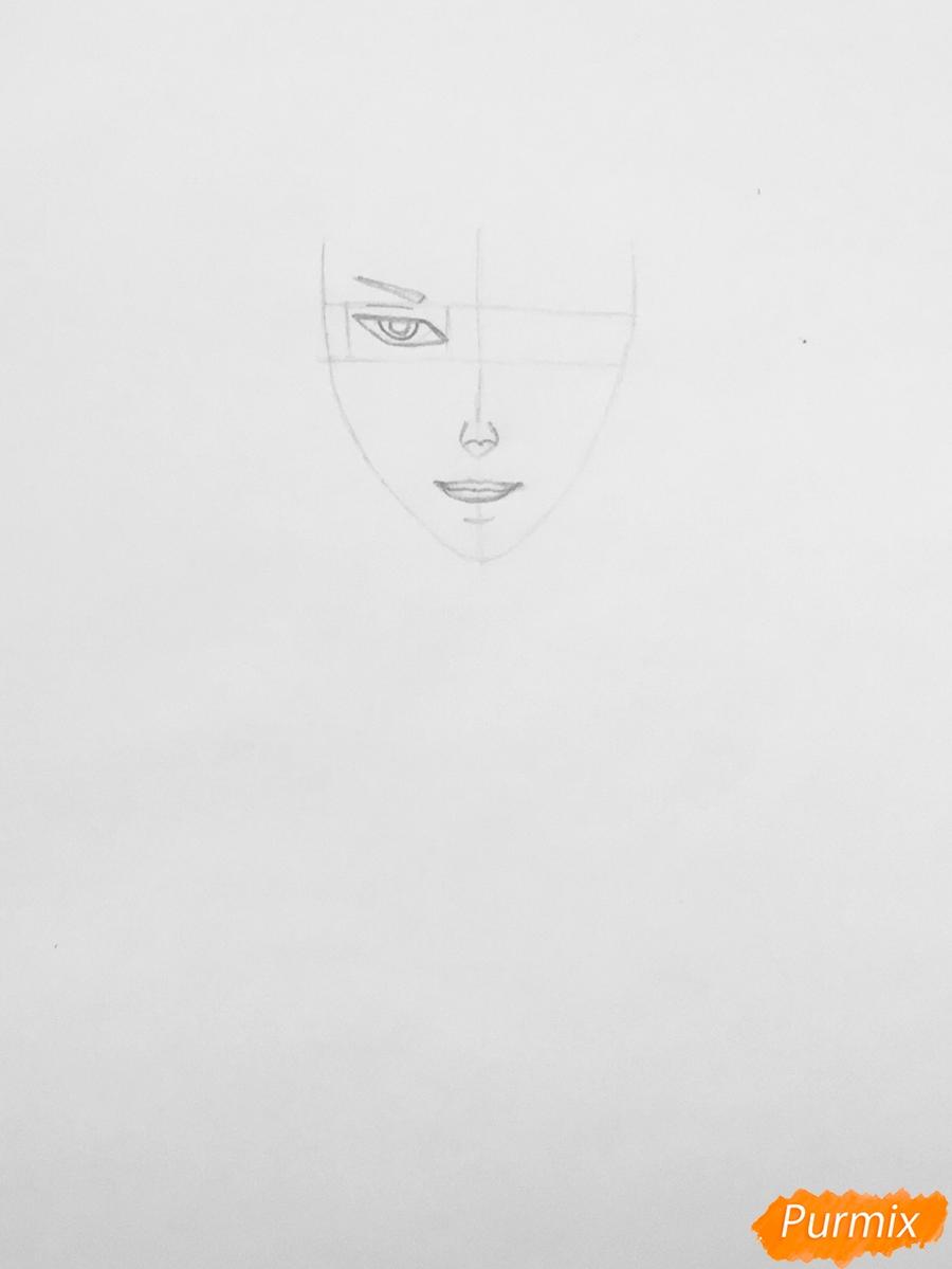 Рисуем Аида из аниме Забавы Богов - фото 2