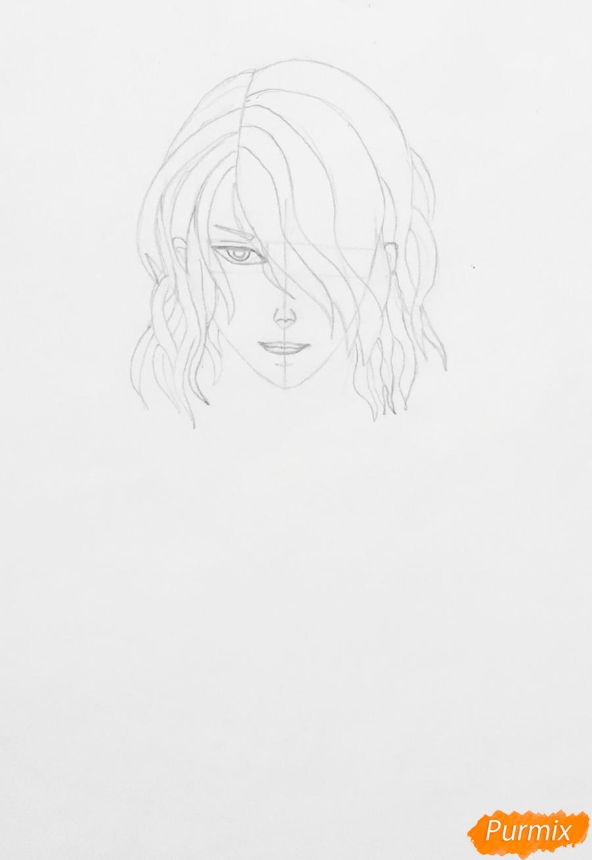 Рисуем Аида из аниме Забавы Богов - фото 3