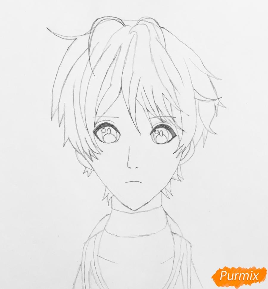 Рисуем портрет Айрис Каннари из аниме Вайолетт Эвергарден  . - фото 4