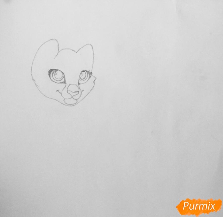 Рисуем  белую аниме тигрицу - фото 2