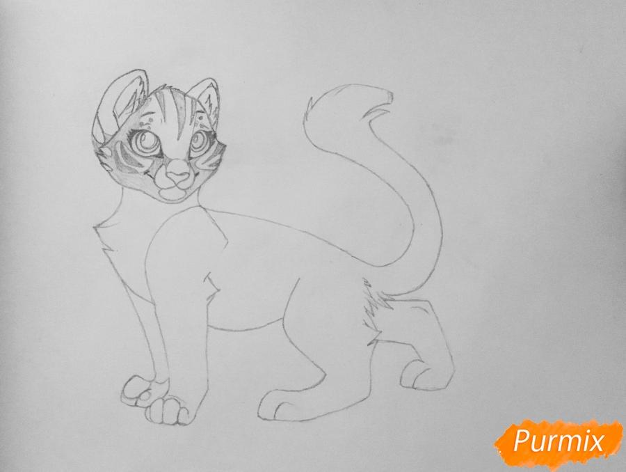 Рисуем  белую аниме тигрицу - фото 5