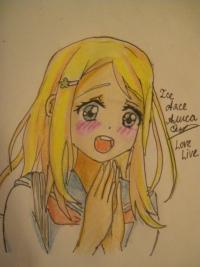 Аясе Алису из Love Live