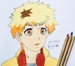 Хидейоши Нагачика из Токийский гуль карандашом
