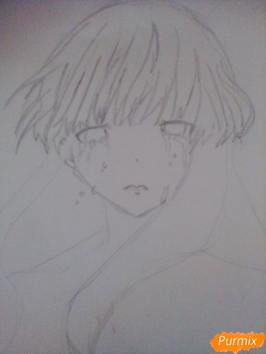 Рисуем и раскрасить Нишимию Шоку - фото 2