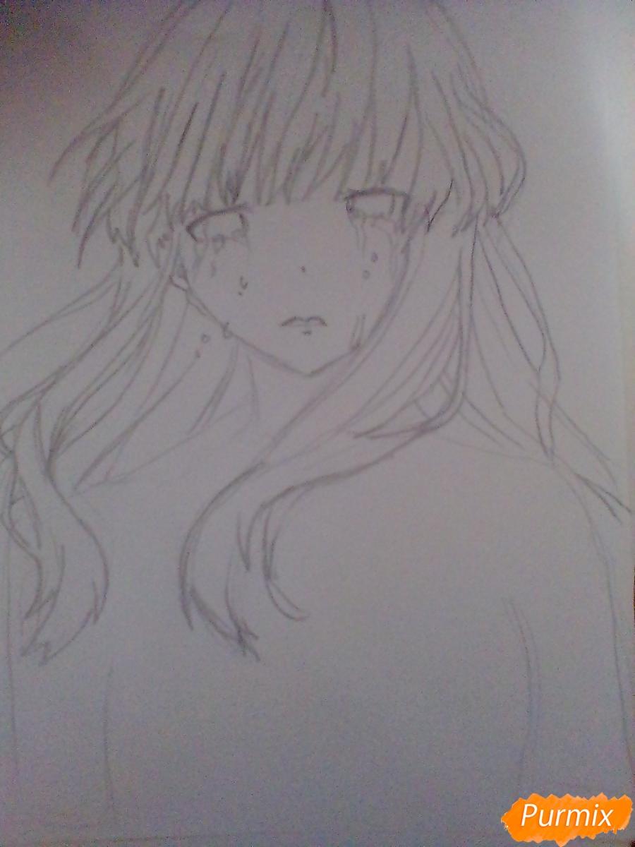 Рисуем и раскрасить Нишимию Шоку - фото 3