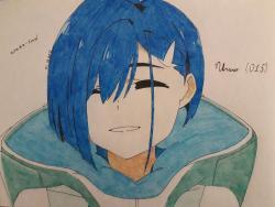 Рисунок Ичиго из аниме Милый во Франксе
