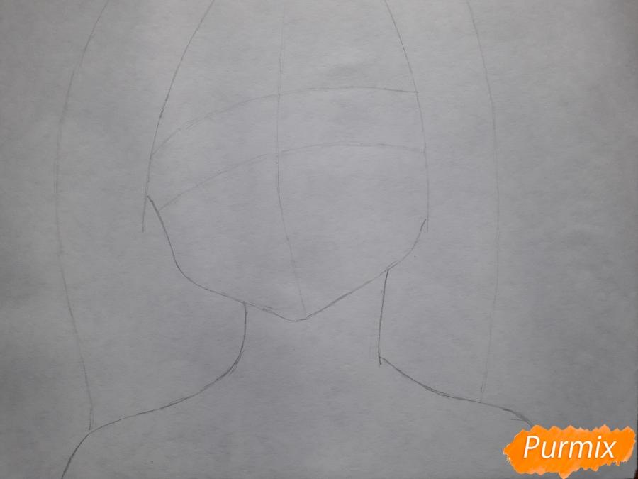 Рисуем Элейн из аниме Семь смертных грехов - фото 1