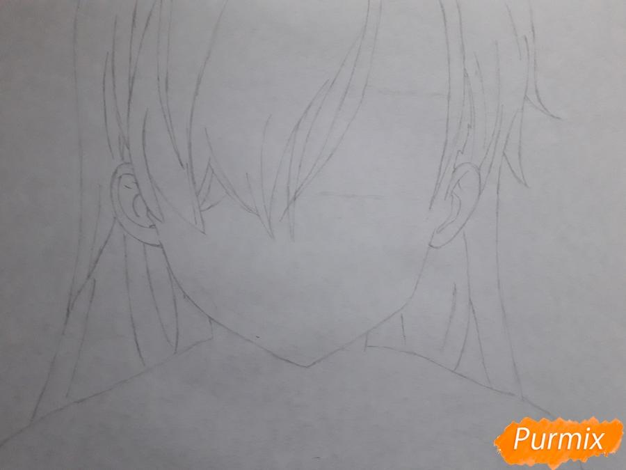 Рисуем Элизабет из аниме Семь смертных грехов - фото 2