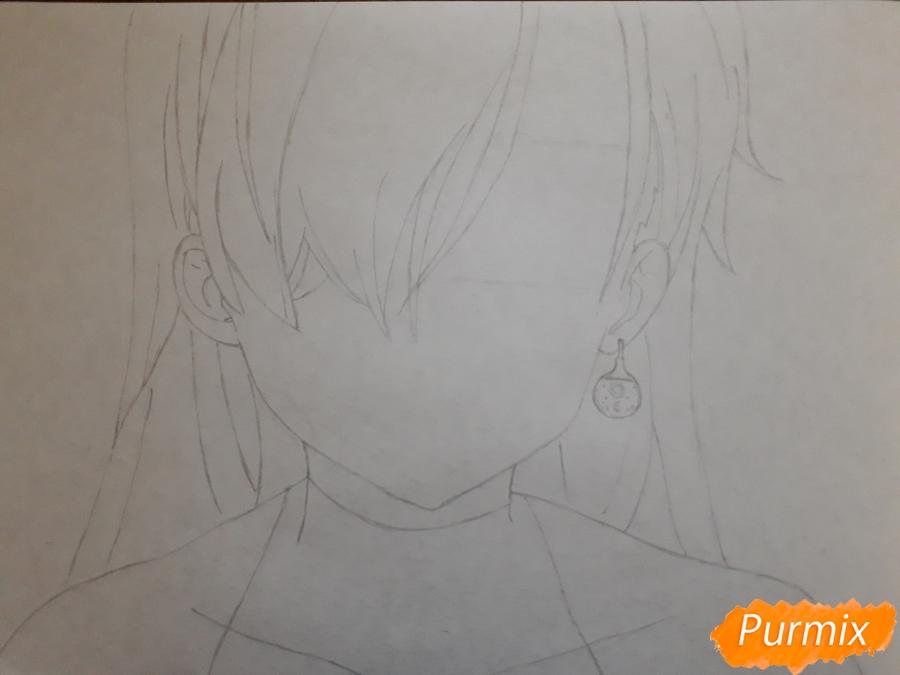 Рисуем Элизабет из аниме Семь смертных грехов - фото 3