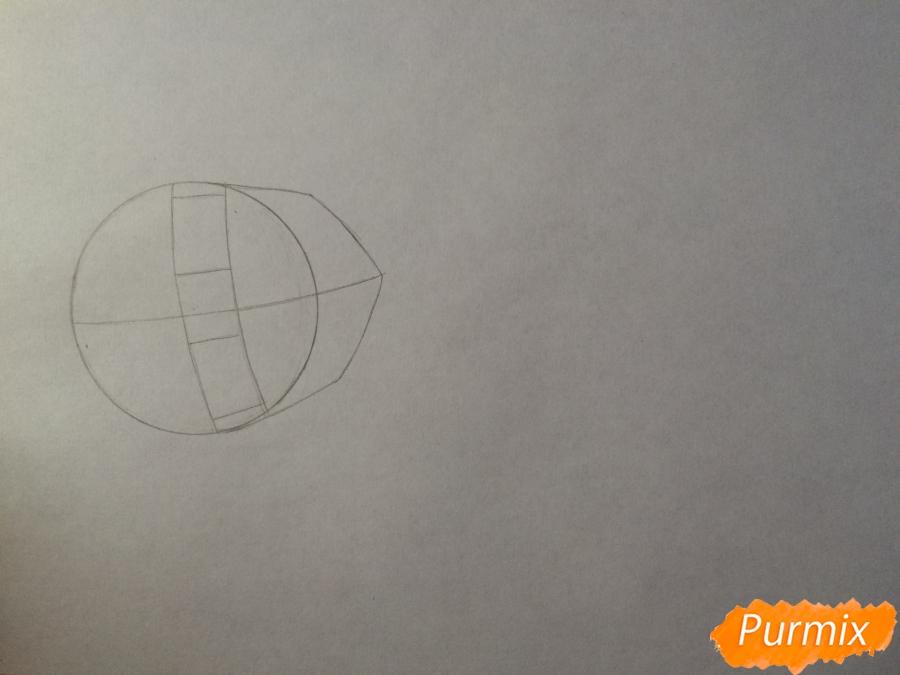 Рисуем и раскрасить Каэ Сэринуму из аниме Я требую яоя - шаг 1