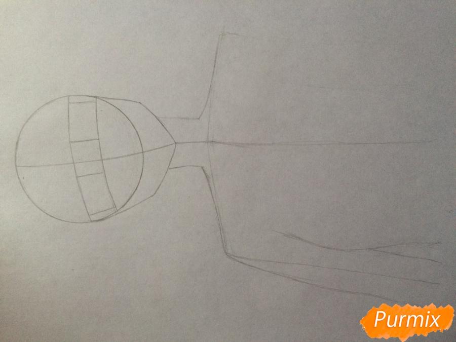 Рисуем и раскрасить Каэ Сэринуму из аниме Я требую яоя - шаг 2