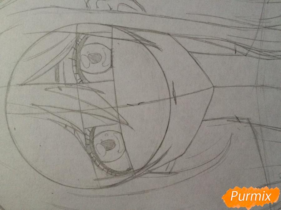 Рисуем и раскрасить Каэ Сэринуму из аниме Я требую яоя - шаг 5