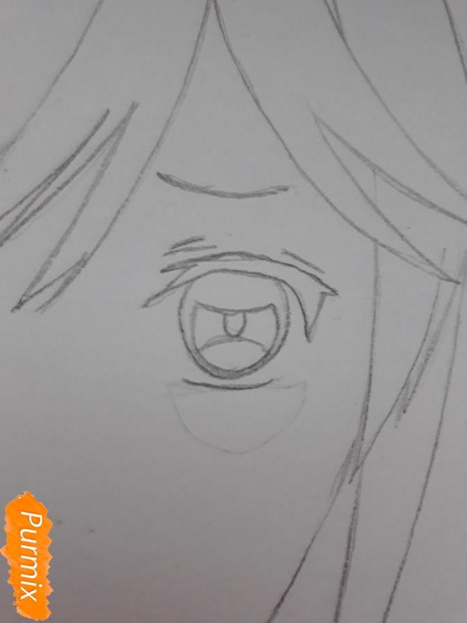 Рисуем Канато Сакамаки из Дьявольских Возлюбленных - фото 4