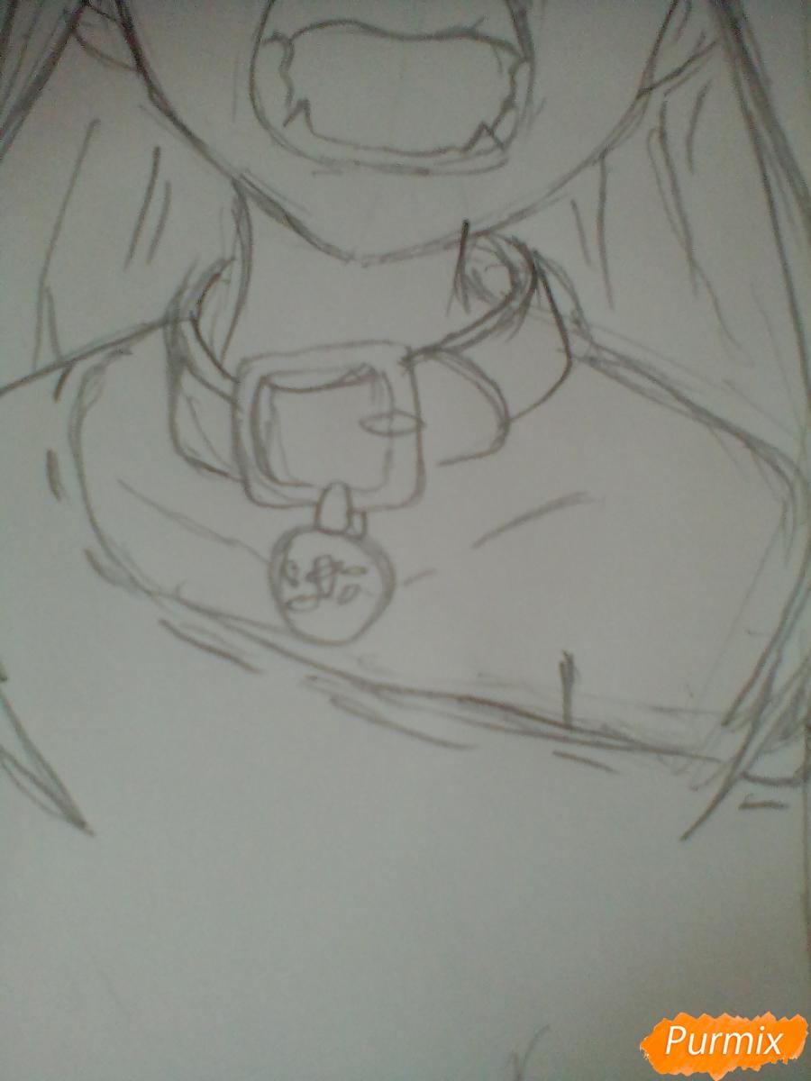 Рисуем кричащую аниме девушку карандашами - фото 5