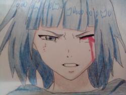 Рисунок Курону Ясухису из Токийский гуль