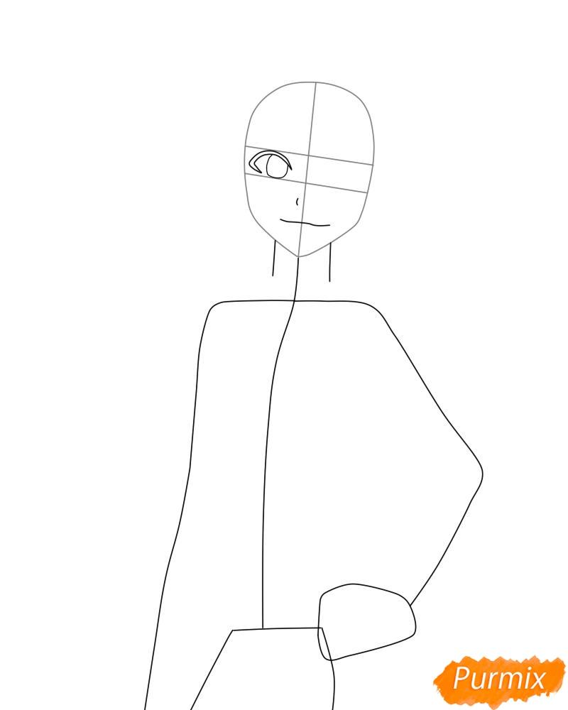Рисуем и раскрасить Лилинет из аниме Bleach - фото 3