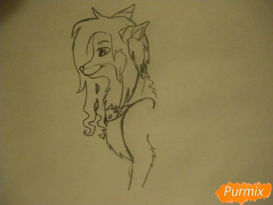 Рисуем лисичку Трикси в стиле аниме - фото 4