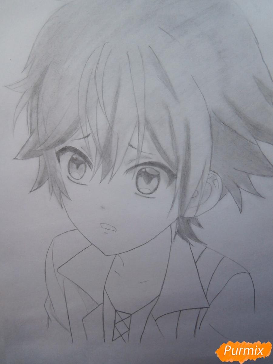 Рисуем маленького Аято Сакамаки из аниме Diabolik Lovers - шаг 10