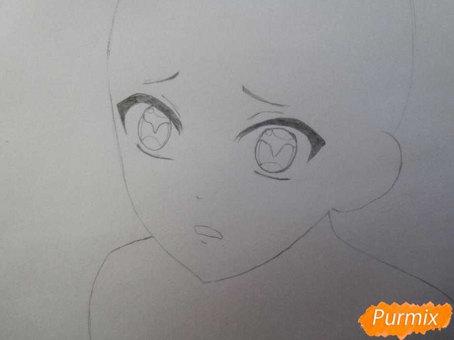 Рисуем маленького Аято Сакамаки из аниме Diabolik Lovers - шаг 3