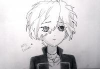 Рисунок маленького Сакамаки Субару