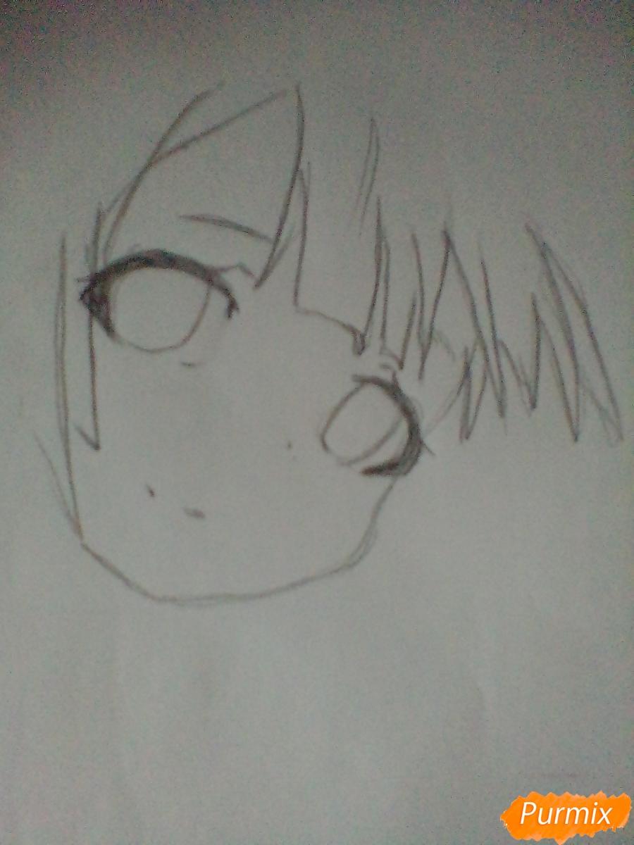 Рисуем портрет Марурука из аниме Созданный в Бездне - шаг 2