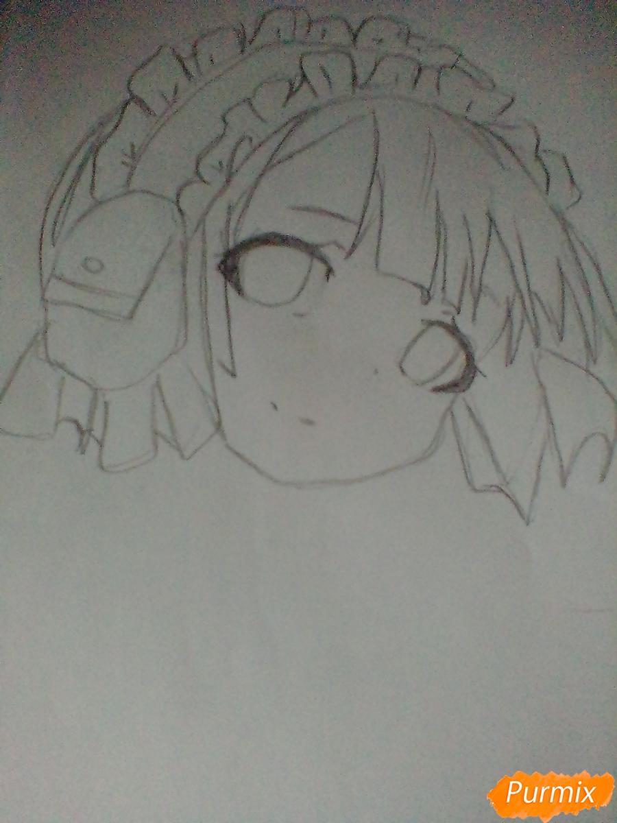 Рисуем портрет Марурука из аниме Созданный в Бездне - шаг 3