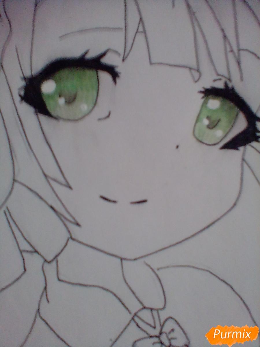 Рисуем портрет Марурука из аниме Созданный в Бездне - шаг 6