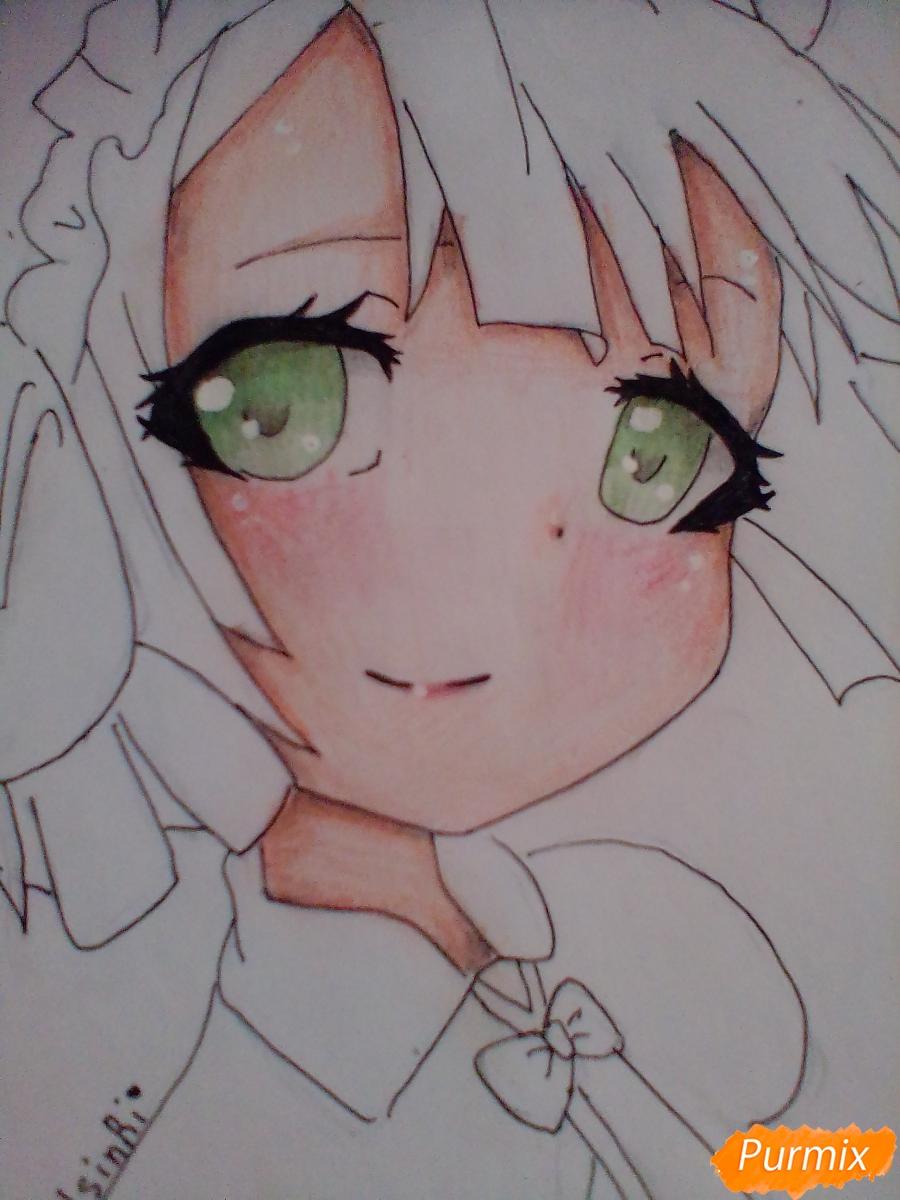 Рисуем портрет Марурука из аниме Созданный в Бездне - шаг 7