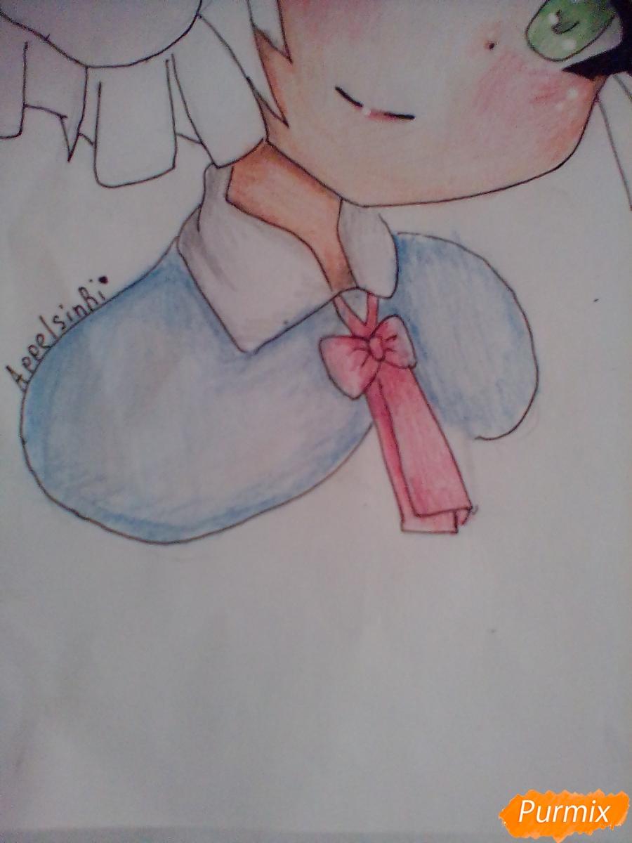 Рисуем портрет Марурука из аниме Созданный в Бездне - шаг 8