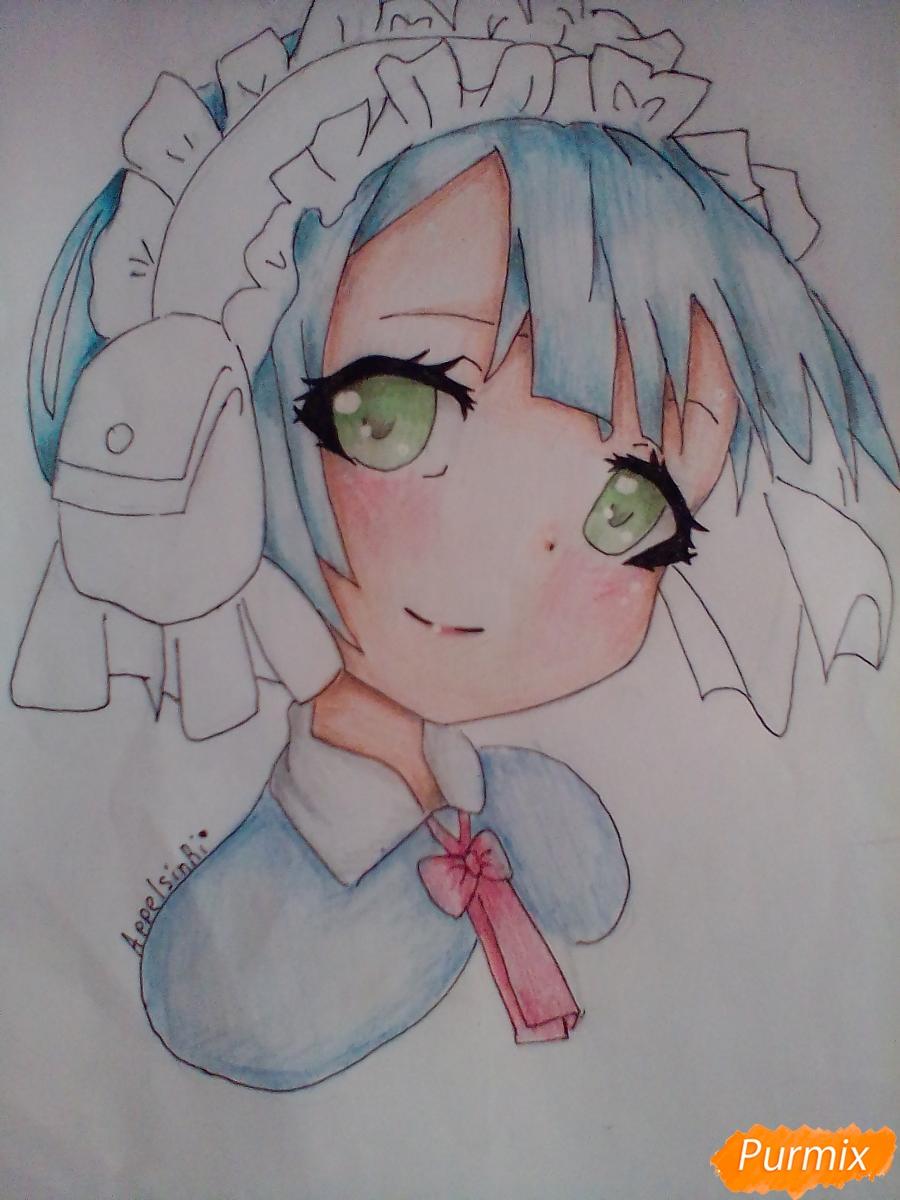 Рисуем портрет Марурука из аниме Созданный в Бездне - шаг 9