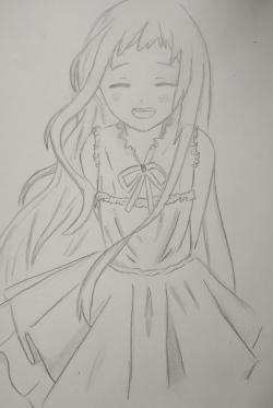 Менму из аниме Невиданный цветок