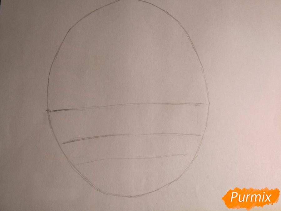 Рисуем миленького мальчика в стиле аниме карандашами и фломастерами - шаг 1