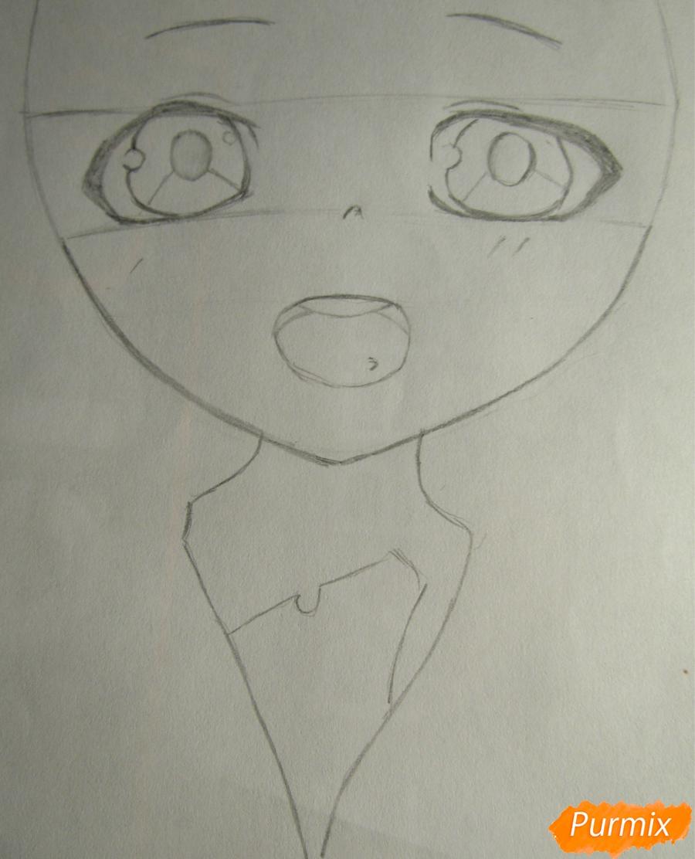 Рисуем миленького мальчика в стиле аниме карандашами и фломастерами - фото 2