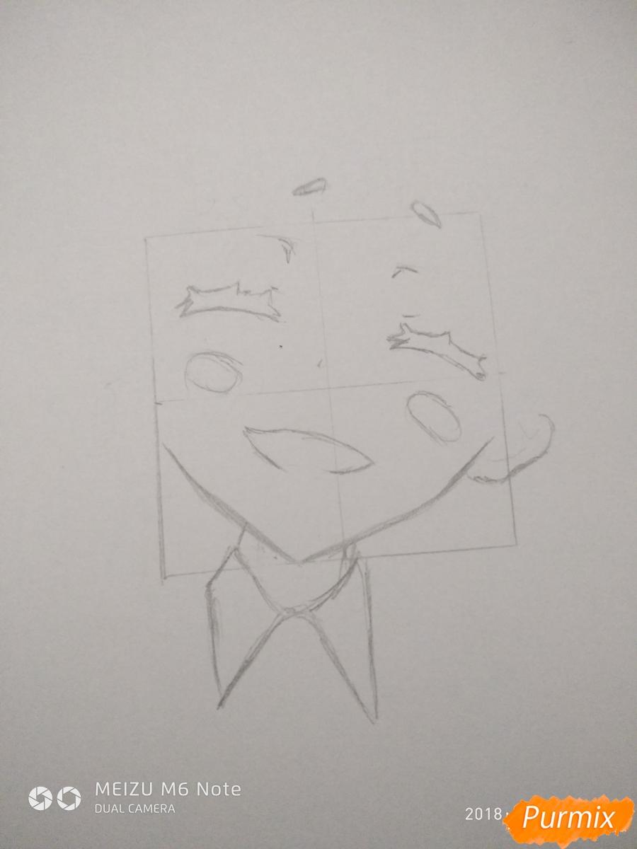 Рисуем Нико Нияма из аниме Кизнайвер - фото 3