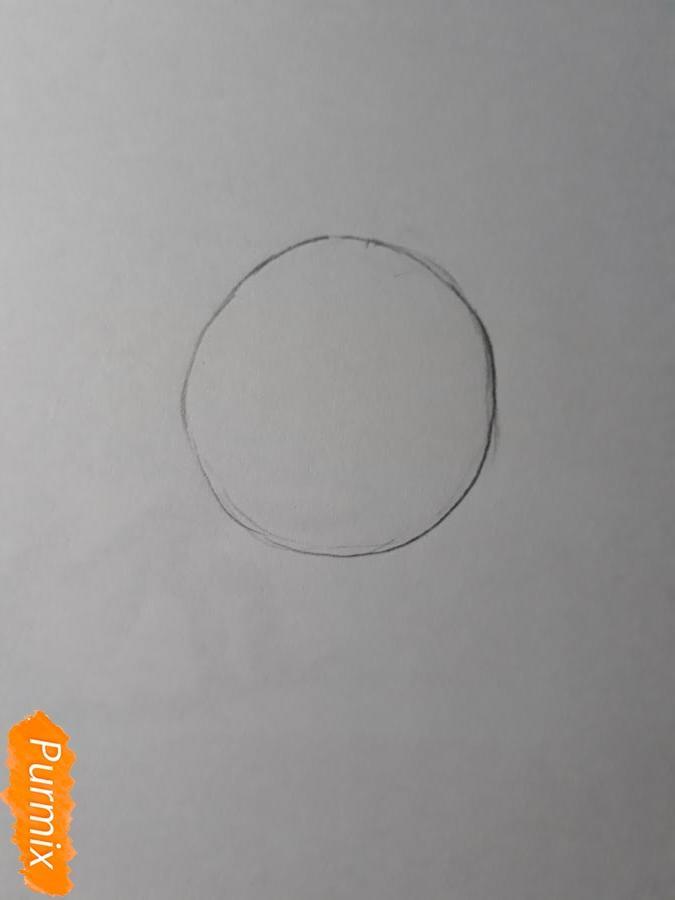 Рисуем Нишияму Шоко из аниме Форма голоса карандашами - фото 1