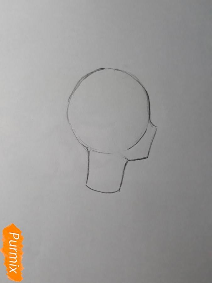 Рисуем Нишияму Шоко из аниме Форма голоса карандашами - фото 2