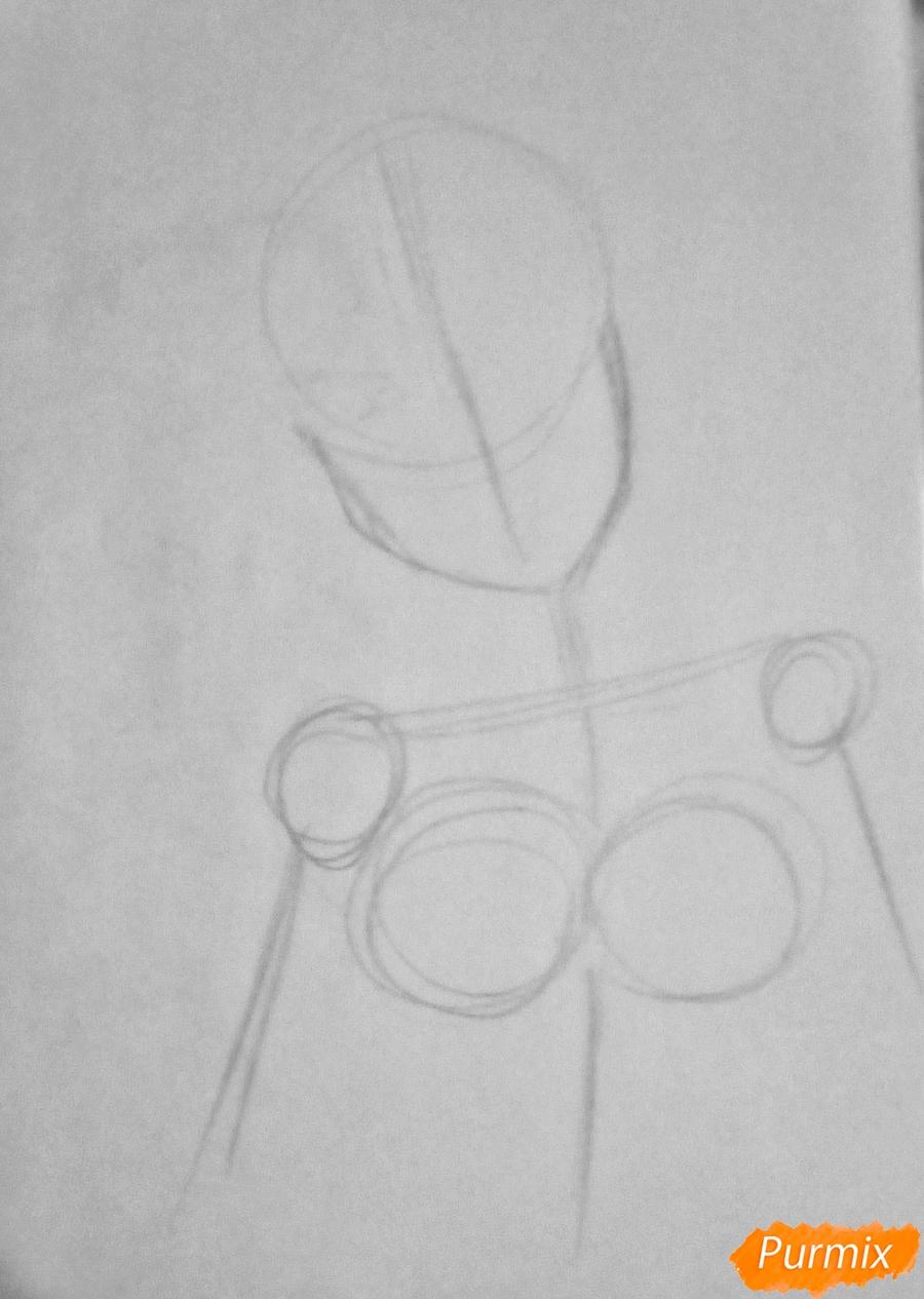 Рисуем Очако Урарака в форме из аниме Моя Геройская Академия - фото 1
