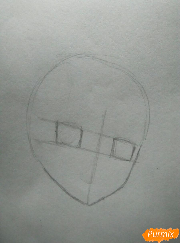 Рисуем Савако Куронума из аниме Дотянутья до тебя - фото 1