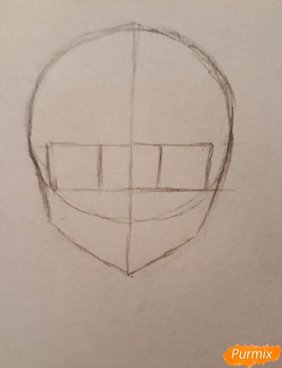 Рисуем стилизированную Юи из аниме K-on - фото 1