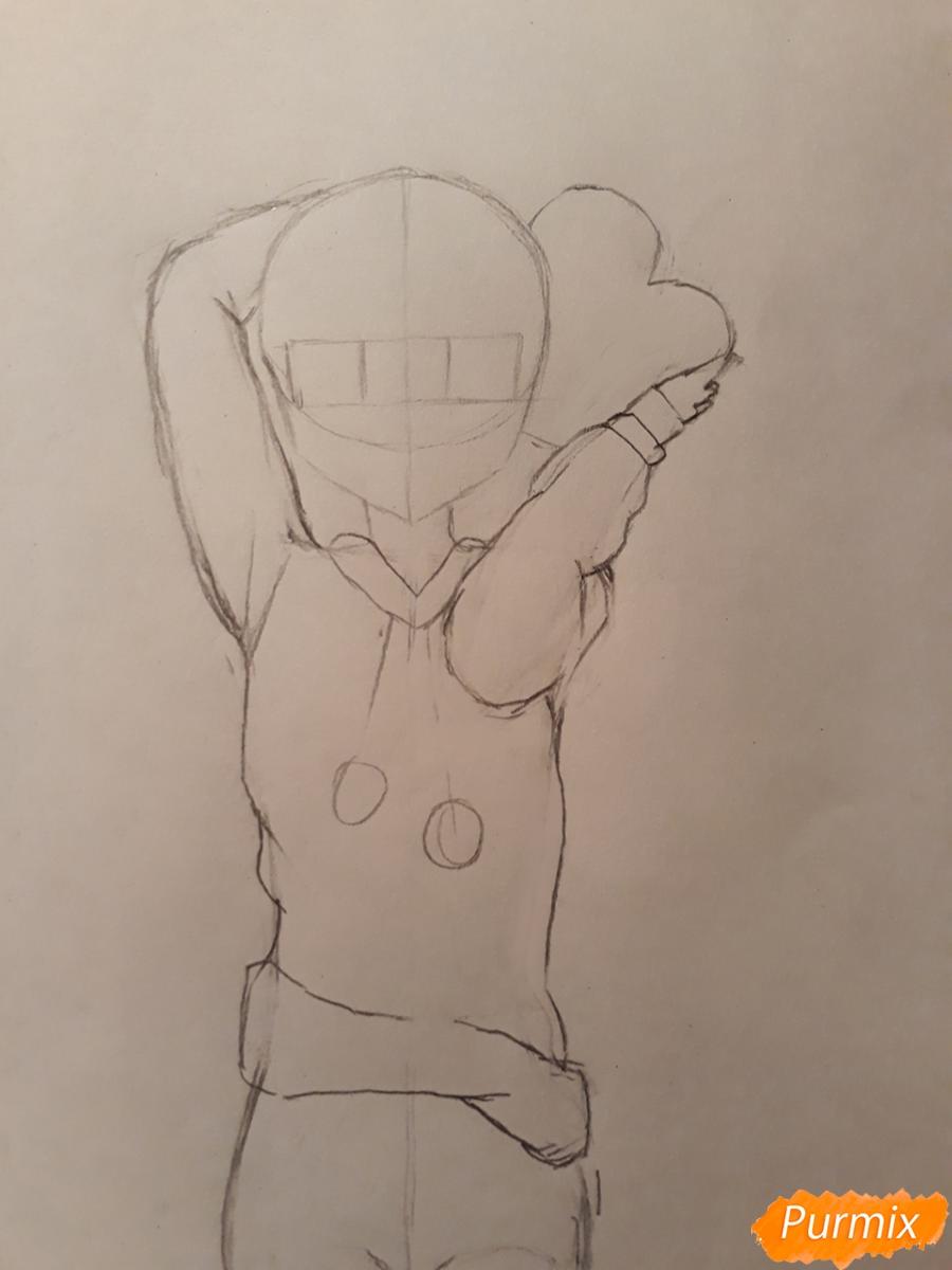 Рисуем стилизированную Юи из аниме K-on - фото 5