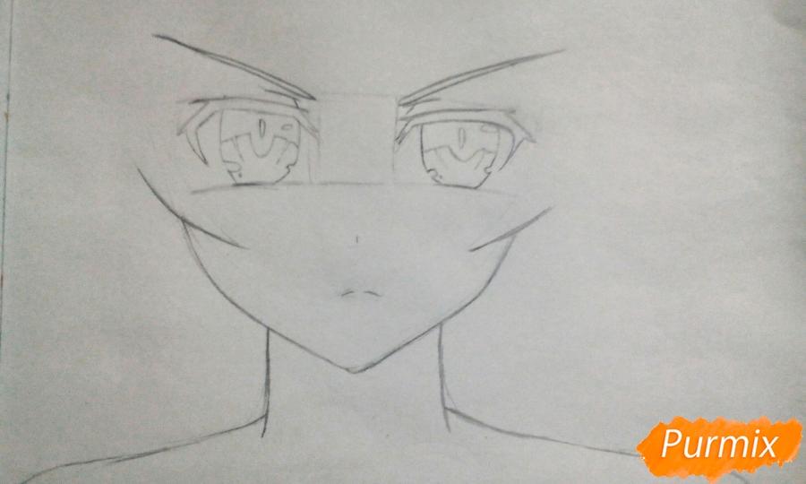 Рисуем Юзуру Ямай из аниме Рандеву с жизнью - фото 2