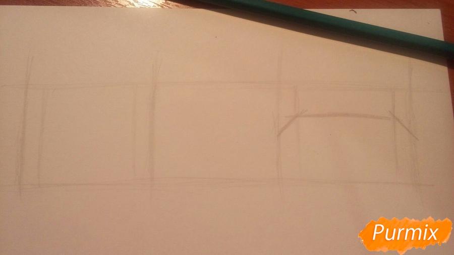 Как научиться рисовать аниме глаза - шаг 8