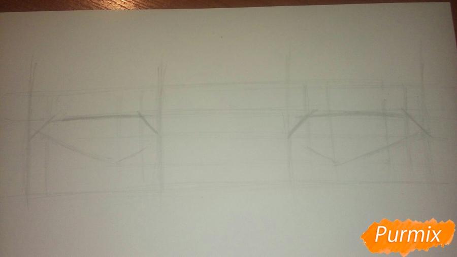 Как научиться рисовать аниме глаза - шаг 9