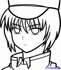 Ayato Naoi из Angel Beats карандашом