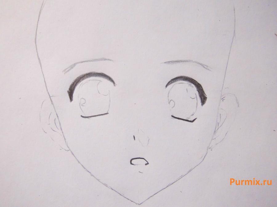 Как нарисовать Дзюна Ямамото из аниме Спецкласс «А» простым карандашом